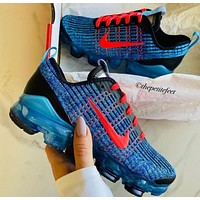 Nike Air Vapormax Flyknit Air Cushion Color Block Men's and Women's Basketball Shoes Sneakers