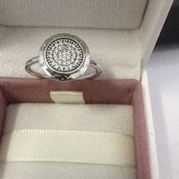 Rings Compatible with Pandora Jewelry Signature Silver Ring New Original Authentic 925