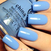 China Glaze Boho Blues Nail Polish (Road Trip Collection)