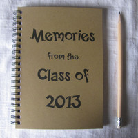 Memories from the Class of 2013 - 5 x 7 journal