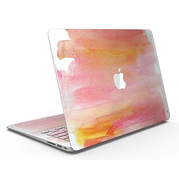 Pink 1973 Absorbed Watercolor Texture - MacBook Air Skin Kit