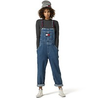 Tommy Jeans Denim Overalls | Tommy Hilfiger USA