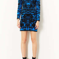 Knitted 3D Abstract Dress - Dresses  - Clothing