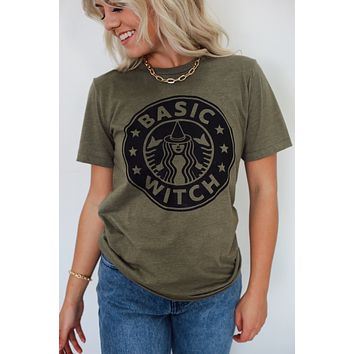 I'm A Basic Witch Graphic Tee