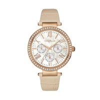 Caravelle New York by Bulova Women's Leather Watch