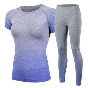 Quick Dry Seamless Fitness Gym Suit