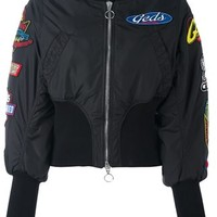 Gcds Patched Bomber Jacket - Farfetch