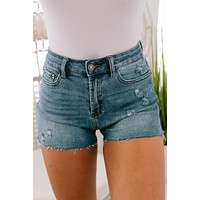 Walk Away Shorts (Medium Wash)