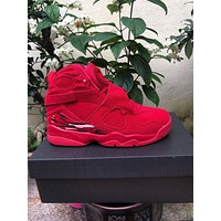 "Air Jordan 8 Retro ""Red"" ""White/Grey"" Size 40-47"