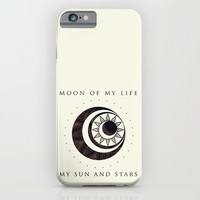 Moon of my life... My Sun and stars iPhone & iPod Case by Rose's Creation