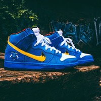 "Familia x Nike SB Dunk High ""Blue Ox"" 313171-471"