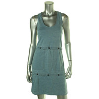 Marc by Marc Jacobs Womens Cotton Tiered Casual Dress
