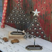 Christmas Bell Trees (Set of 2)
