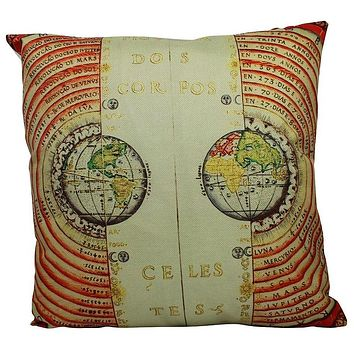 Constellations | Pillow Cover | Star Chart | Constellation Pillow | Throw Pillow | Zodiac | Solar System | Zodiac Gift | Stars | Planets