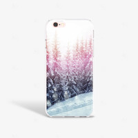 iPhone 6s Plus Case Forest iPhone SE Case Clear Trees Phone Cases iPhone 6s Case Clear Pretty iPhone 6s Case Samsung S7 Case Pine Trees