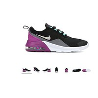 Big kids - Bedazzled Custom Girl Shoes Nike Air Max Motion 2 - Size 3 - 7