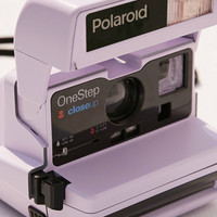 Impossible X UO Refurbished Lavender Close-Up Polaroid 600 Instant Camera   Urban Outfitters