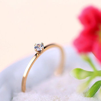 10% OFF,0.8 mm,Skinny Ring,Thin Rose Gold Ring,Rose Gold Filled Ring,Promise Ring,Lovers Rings,Stackable Ring