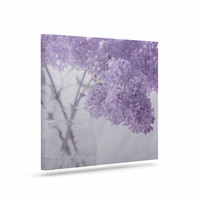 "Suzanne Harford ""Lilacs"" Purple Floral Canvas Art"