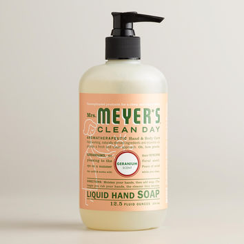 Mrs. Meyer's Geranium Hand Soap - World Market