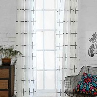 Assembly Home Plus Sign Curtain