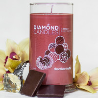 Chocolate Truffle Candle - All Natural Soy Candles By Diamond Candles