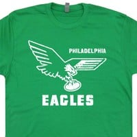 Vintage Philadelphia Eagles T Shirt Philadelphia Eagles Retro Logo T Shirt