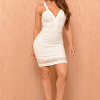 Katrina Dress - White