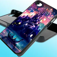 Disney Tangled The Lights for iPhone 4/4s Case - iPhone 5 Case - Samsung S3 - Samsung S4 - Black - White (Option Please)