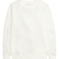 H&M Textured-knit Sweater $19.99