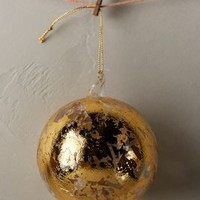 Foiled Gold Ornament by Anthropologie Gold One