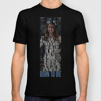 Born To Die by Del Rey Lana T-shirt by Marvin Fly