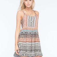 PATRONS OF PEACE Strappy Babydoll Dress | Short Dresses
