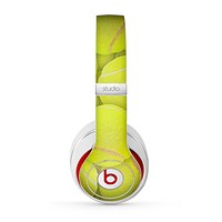 The Tennis Ball Overlay Skin for the Beats by Dre Studio (2013+ Version) Headphones
