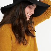 Floppy Felt Hat for Women | Old Navy