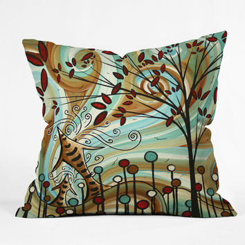 DENY Designs Home Accessories | Madart Inc. Venturing Out Throw Pillow Sale Item