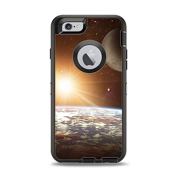 The Earth, Moon and Sun Space Scene Apple iPhone 6 Otterbox Defender Case Skin Set