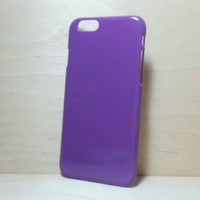 Hard Plastic Case for iphone 6 (4.7 inches) - Purple
