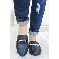 Harriett Mules - Black