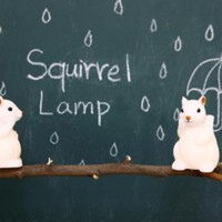 Baby Squirrel LED Lamp