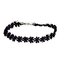 3 Colors All-match Lace Chokers Necklaces Alloy Cute Black Necklaces -selling Sets Necklace Feida