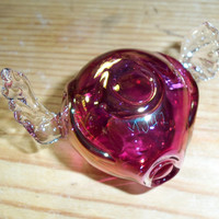 Snitch - Handblown Glass Pipe - Made to Order