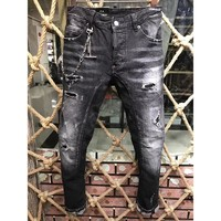 Dsquared2 Fashion Casual Pants Trousers Jeans-11