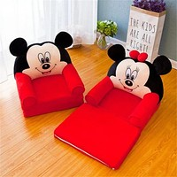 Foldable Baby Kids Micky Mouse Designed Sofa