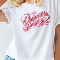 Truly Madly Deeply Airbrush Princess Tee - Urban Outfitters