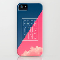 Free Your Mind II - Pink iPhone Case by Galaxy Eyes | Society6