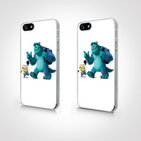 PGP-096 - Minions and Monster Case - Minions Case  - Iphone 4 Case - Iphone 4s Case - Iphone 5 Case - 2D Iphone Case - Hard Plastic Case