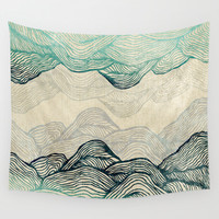 Crash Into Me  Wall Tapestry by Rskinner1122