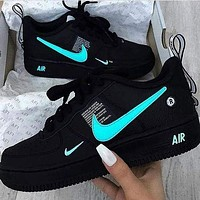 NIKE AIR FORCE 1 AF1 OW Running Sport Sneakers Shoes