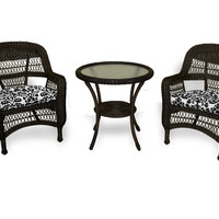 Tortuga Outdoor Portside 3 pc Bistro Set